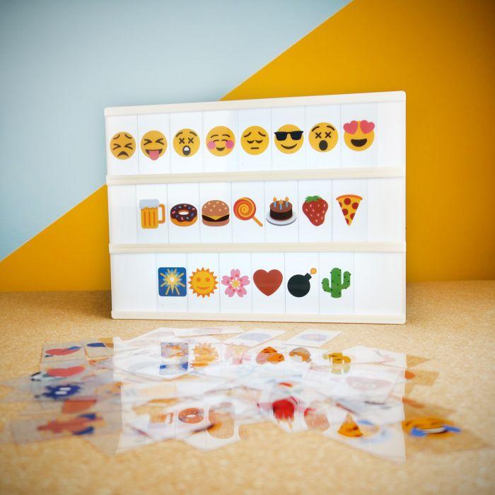 Emoji set voor lightbox