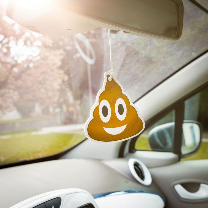 Emoji Poop – Luchtverfrisser voor de auto