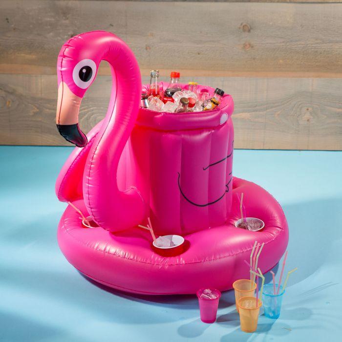 Opblaasbare flamingo bar