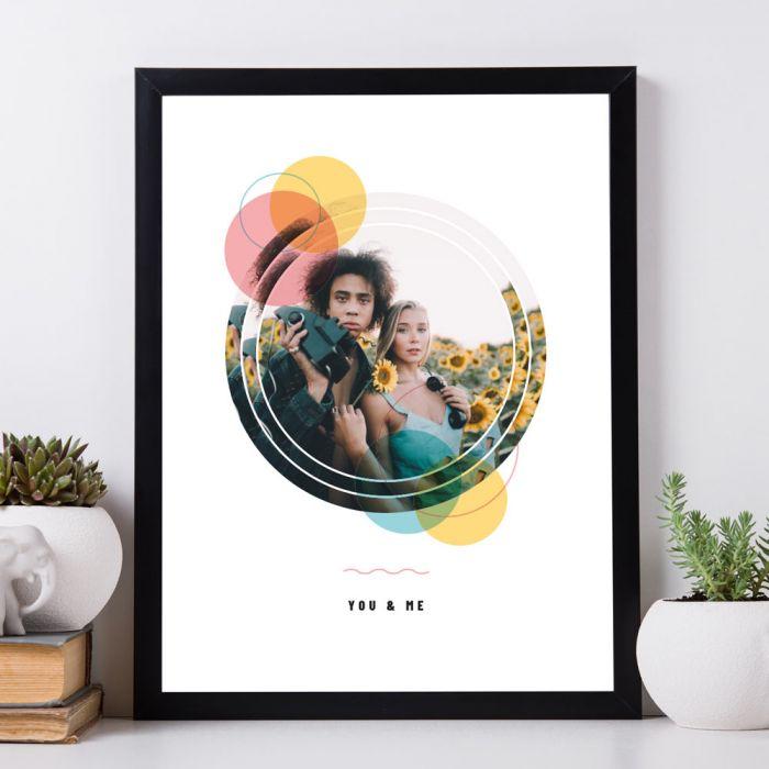 Personaliseerbare poster met foto