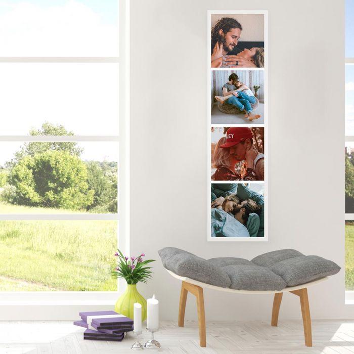 Personaliseerbare fotostrip poster