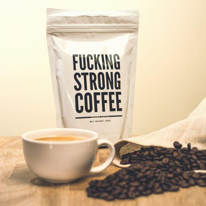 F*cking Strong Coffee: verrekte sterke koffie