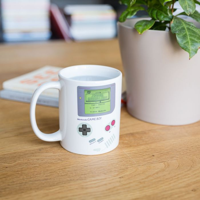 Temperatuurgevoelige Game Boy mok