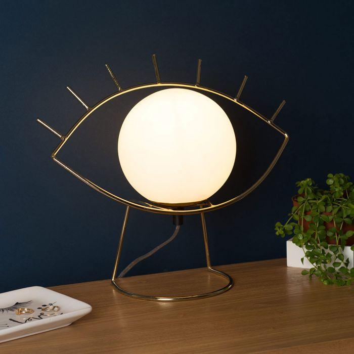 Golden Eye lamp