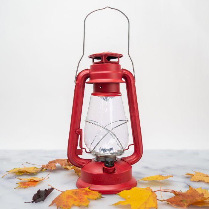 Rode storm lamp
