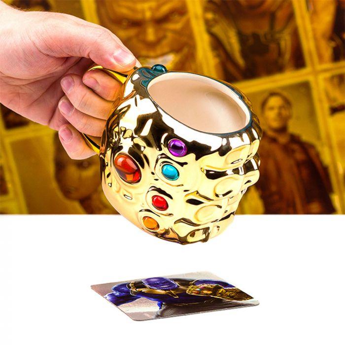 Avengers Infinity War Handschoen Mok