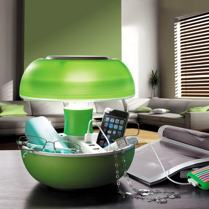 JOYO tafellamp met USB-poorten