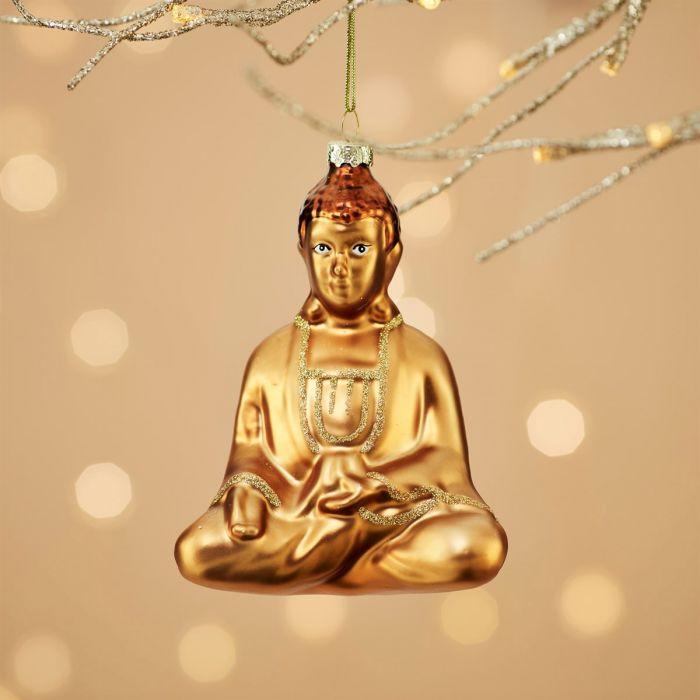 Gelukkige Buddha kerstboom decoratie