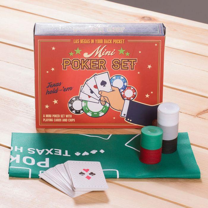 Mini pokerset