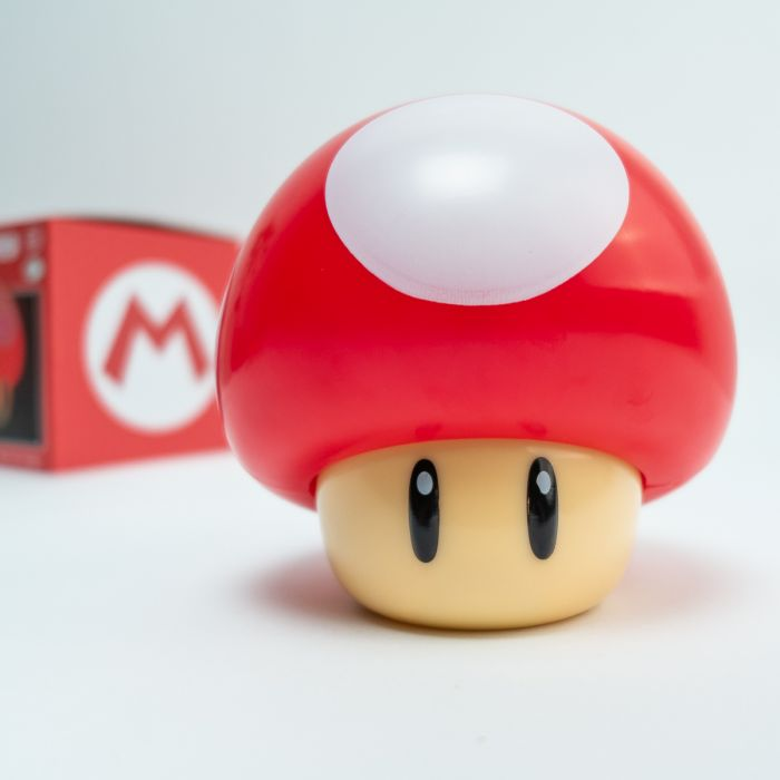 Super Mario paddenstoel lamp