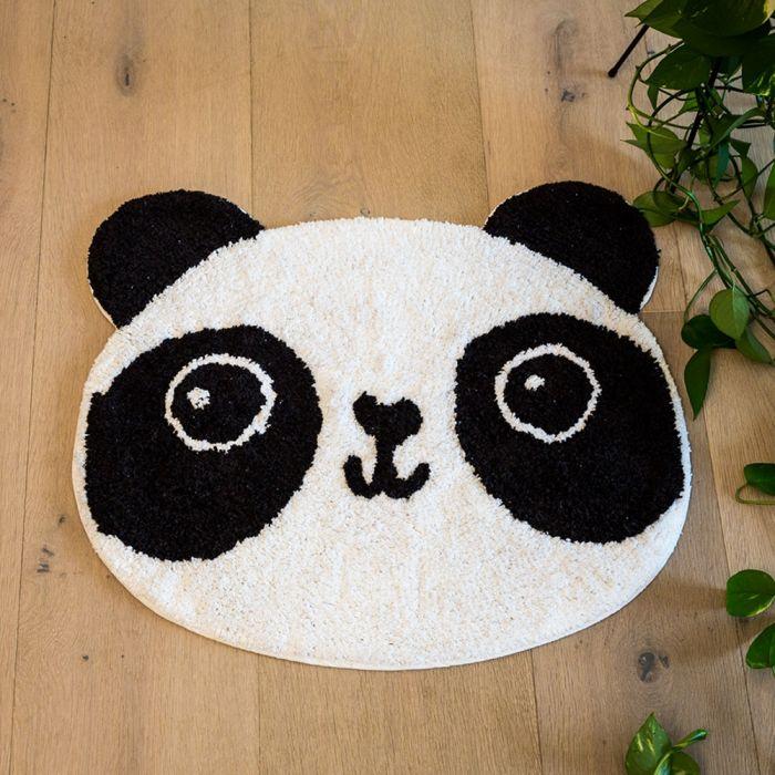 Panda badkamer mat