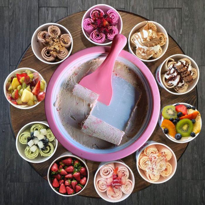 Rolling ice cream – Ijs rollenset