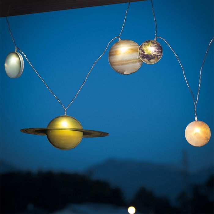 Zonnestelsel lichtsnoer