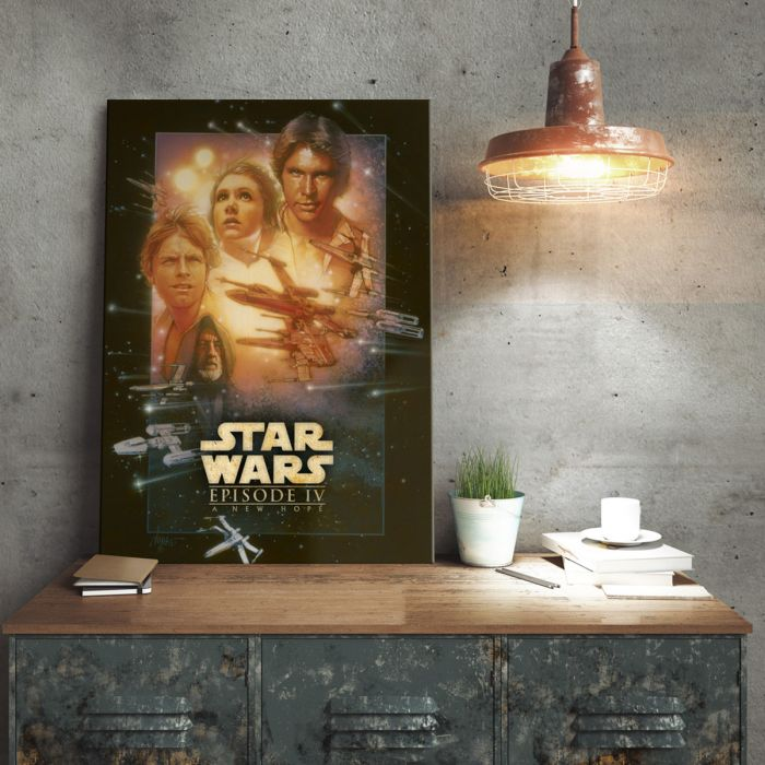Star Wars metaalposter - A New Hope