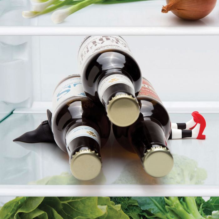 Tipsy bottle stacker
