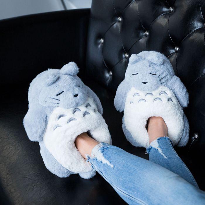 Anime bosgeest pantoffels