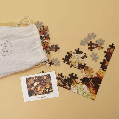 Calm Club puzzel herfstbladeren