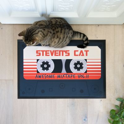 Personaliseerbare deurmat - Mixtape