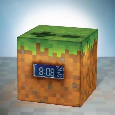Minecraft wekker met lamp