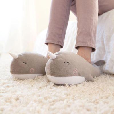 Verwarmde walvis pantoffels