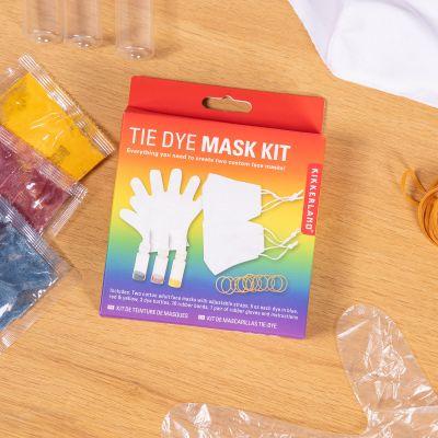 Mondmasker doe-het-zelf kleuren set