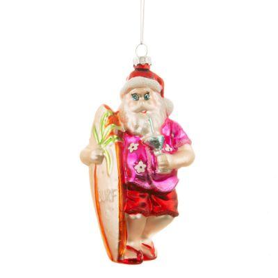 Tropical Santa Kerstboomversiering