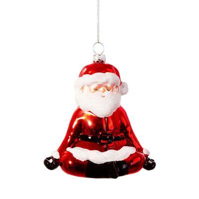 Kerstman yogi kerstboomversiering