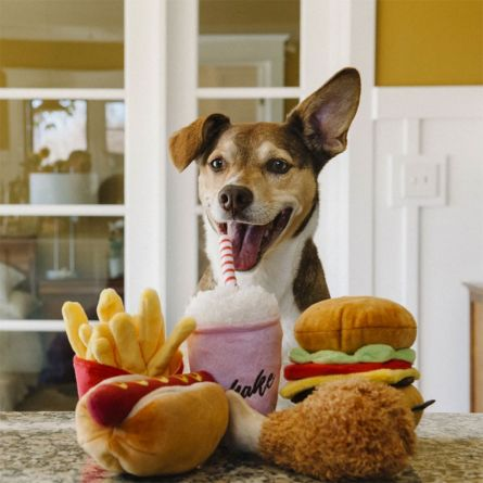 American Classic hondenspeelgoed van pluche
