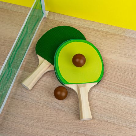 Avocado pingpong set