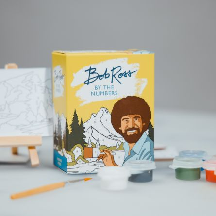 Bob Ross mini-schilderij set