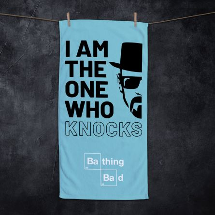 I Am The One Who Knocks handdoek