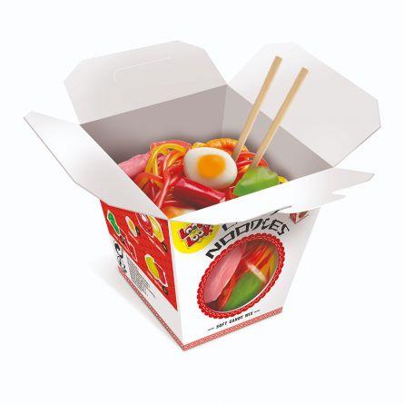 Noodle snack van fruitgums