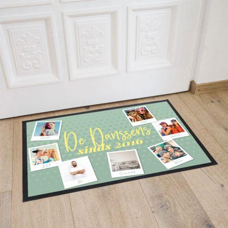 Personaliseerbare deurmat met 7 afbeeldingen en tekst