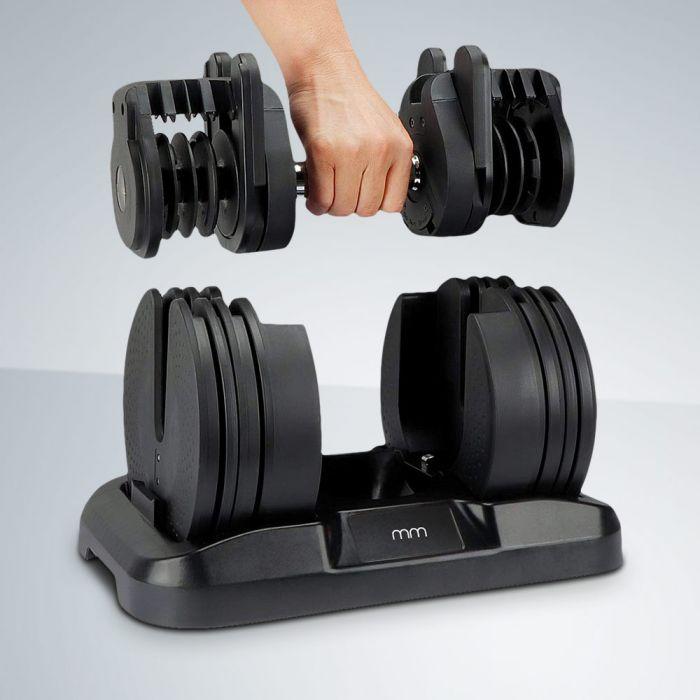 Halter met instelbaar gewicht