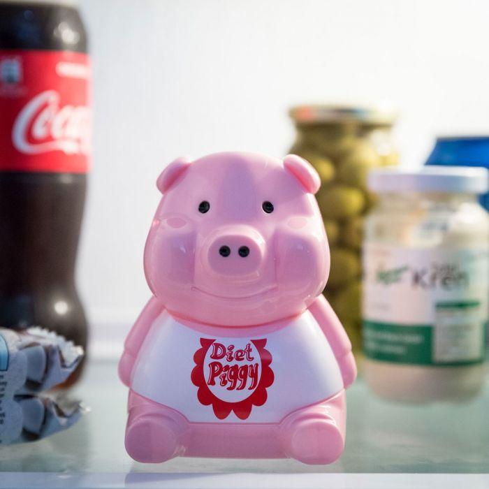 Dieetvarken voor in de koelkast
