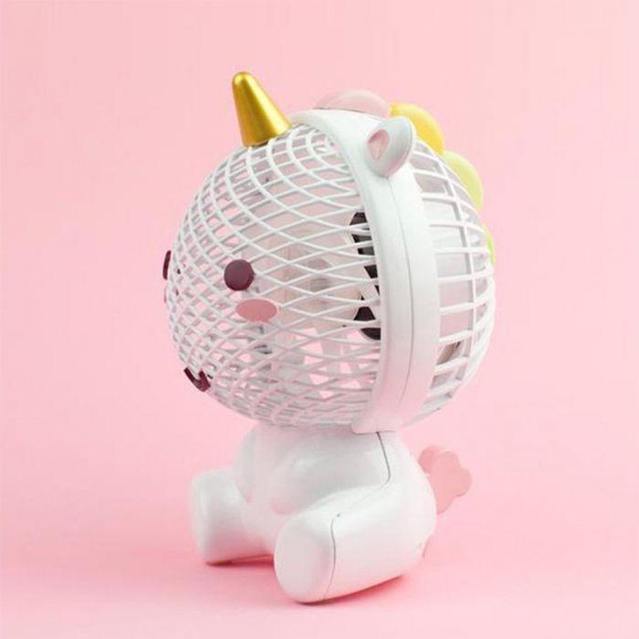 Elodie eenhoorn ventilator via USB