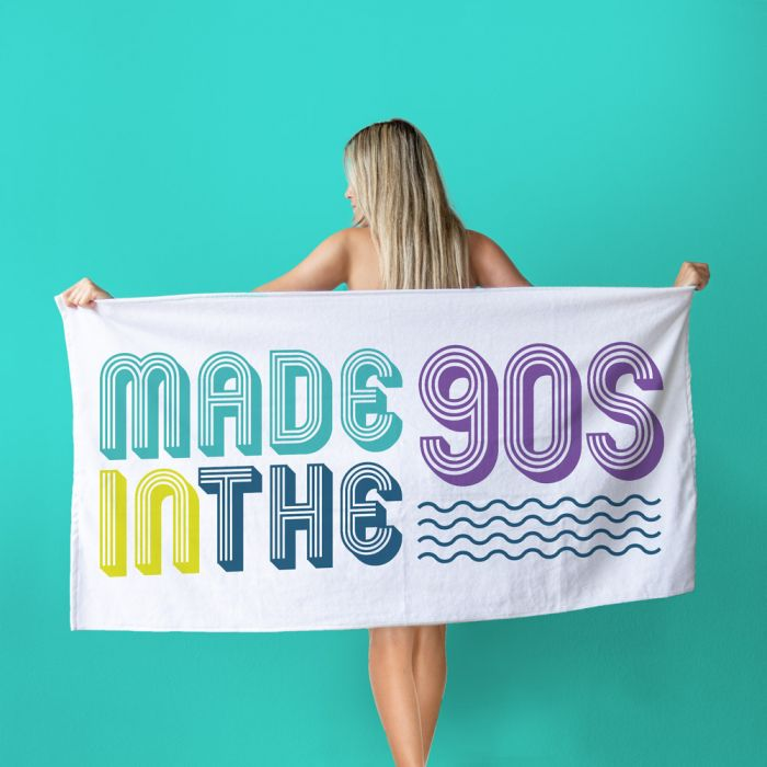 Made In The handdoek