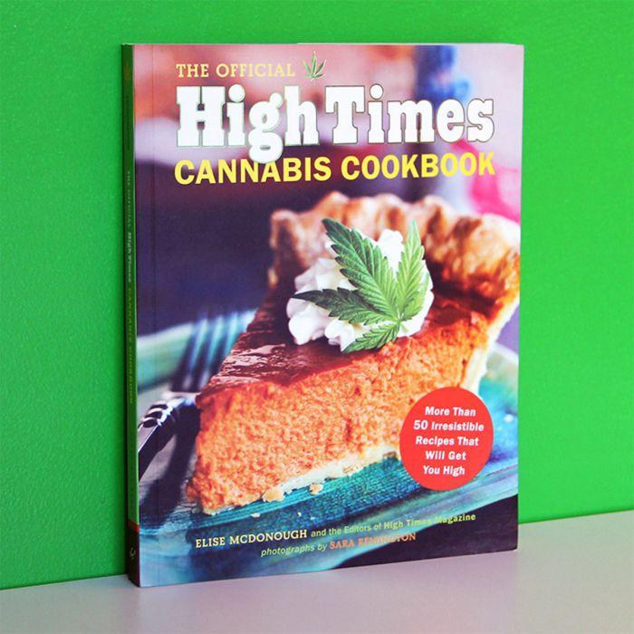 High Times cannabis-kookboek