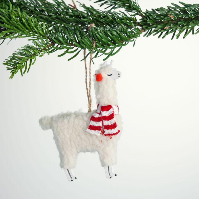 Lama Kerstboom decoratie