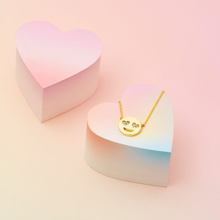 Hartjes Emoji Ketting