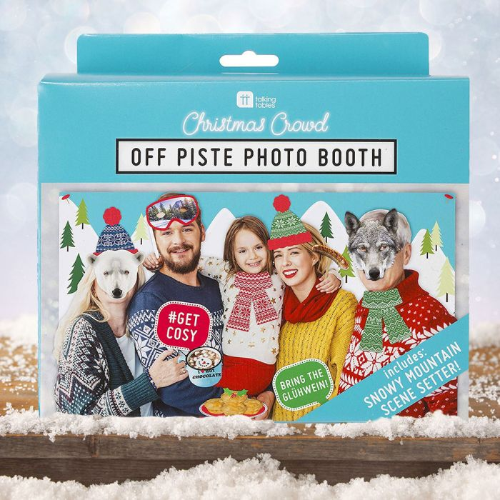 Offpiste fotoset voor Kerstmis