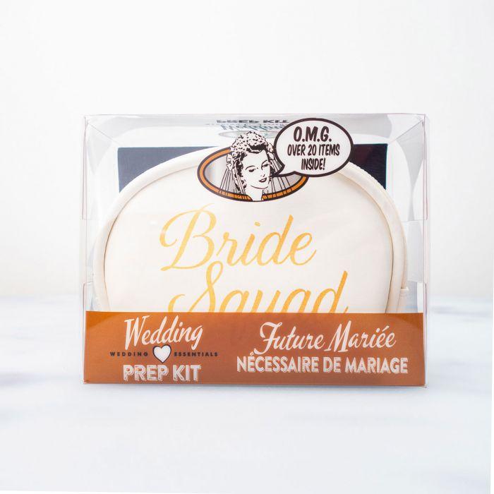 Bruiloft survival kit voor dames