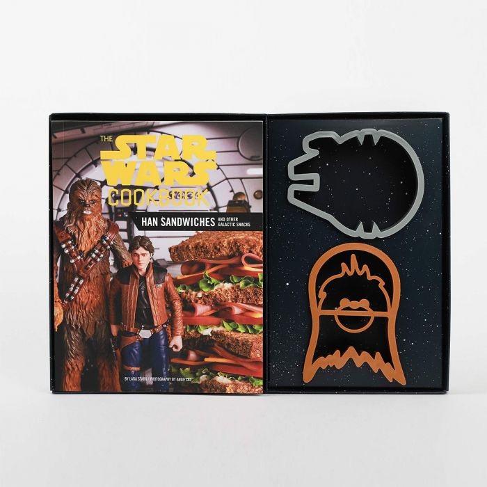Star Wars kookboek met sandwich vormpjes