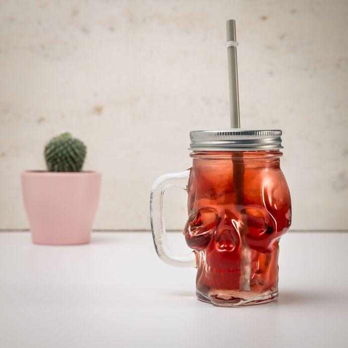 Doodshoofd glas