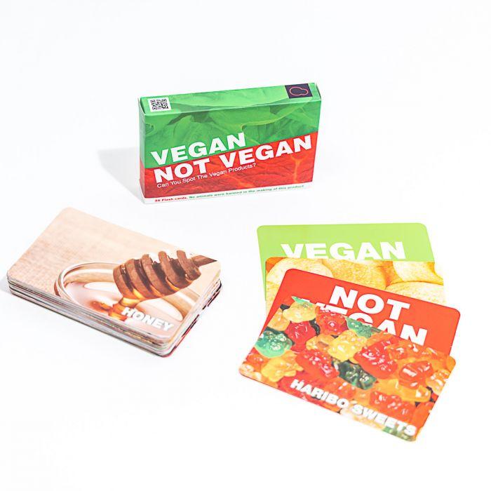 'Vegan of niet' kaartspel