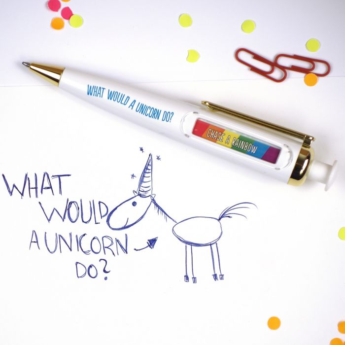 Eenhoorn orakel pen