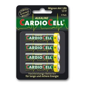 Cardiocell batterij Mignon Plus AA-LR6 4-pak