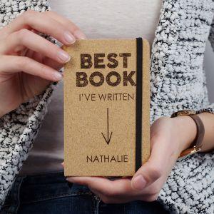 Personaliseerbaar kurken notitieboek - Best Book