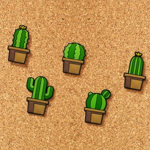 Cactus pin spelden