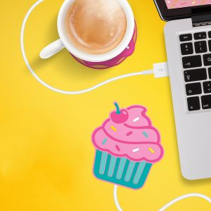 Cupcake USB-bekerverwarmer